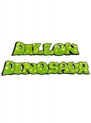 Laminated Dillon the Dinosaur Title